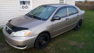 2006 Toyota Corolla, Automatic, Low Km's, New Inspection