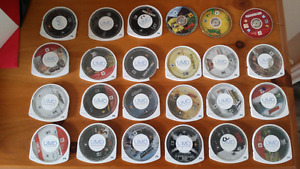Assorted PSP Games $10 each or $50 for all