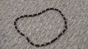 Wood Bead Necklace From Mexico