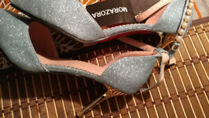 Brand new sea blue ladies shoe for sale