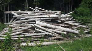 Cedar posts for Fencing and Railing / Firewood