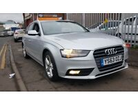 Audi A4 Technik 2.0 TDIe 136PS (silver) 2014