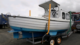 Darragh 23ft Fishing Boat.