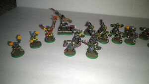 Large Pro Painted Orc&Goblin BloodBowl Team