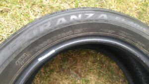 205 55 R 16 Bridgestone used summer tires