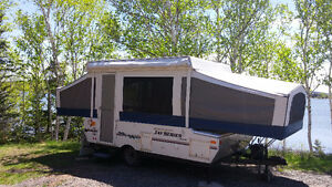 Jayco Jay Series with indoor and outdoor shower and toilet