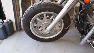2005 Road glide front wheel and tire
