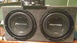 Nice car audio set up for sale