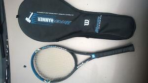 Wilson Hyper Hammer 4.3 Tennis Racquet  Used but still in great