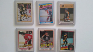 7 80's opc sports cards