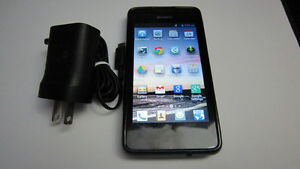 Huawei Ascend Y300 cellphone with BELL