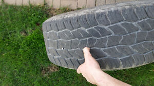 Used cooper a/t tires