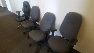 $50 for 4 office chairs or $15 each