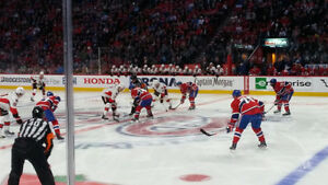 Canadiens de Montreal billets tickets Prestige Centre 112 DD