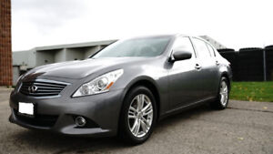2010 Infiniti G37X Sedan, Great Condition, Backup Camera, 126KMS