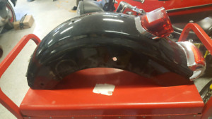 Harley Touring rear fender. Complete