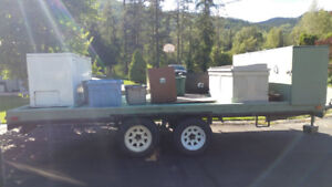 Hunting Trailer & Supplies