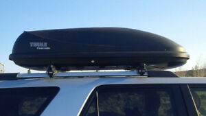 Thule Cascade 425 litre XL cargo roof box with rack / cross bars