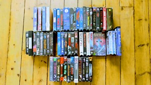 55 HORROR Vhs tapes 40$