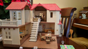 Calico Critters Townhouse