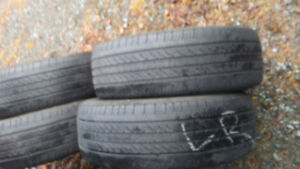 4 Michelin Winter Tires.$100.205/60/16