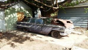 1960 Rare Chevy Impala Flat Top