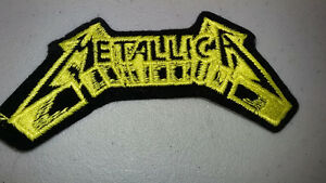 Metallica - Logo Embroidered Jacket Patch