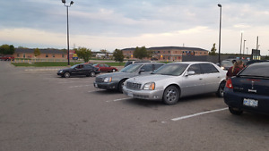 2002 cadillac Deville as is
