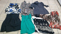 Bag of 7 Dresses - Mostly size small