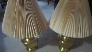 Brass Plated Lamps