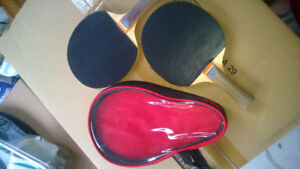 Ping pong collection  Bats and balls available