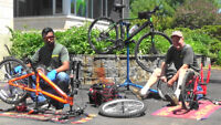 Bicycle Mechanic with own car