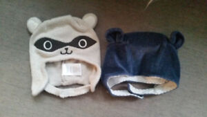 Baby boy winter hats - BabyGAP and Gymboree