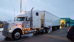 2005 Freightliner Classic with 2016 Manac Trailer and JOB!