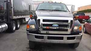 2008 Ford F-750 CAB CHASSIS 5th Wheel