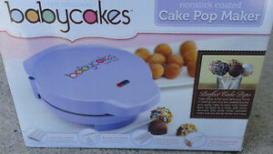 machine a Baby cakes cake pop maker KIT