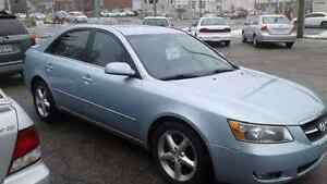 2007 Hyundai Sonata Leather and Sunroof and Like New