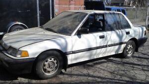 1990 Honda Civic Sedan DX    $1300.00