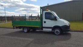 2012 62 PLATE IVECO DAILY 35C13 LWB DROPSIDE PICK UP