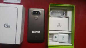 LG G5 Factory Unlocked Never Used in Box 32GB with Accessories