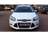 2014 Ford Focus 1.0 125 EcoBoost Titanium Navi Manual Petrol Hatchback