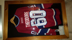 Signed Montreal Canadians jersey