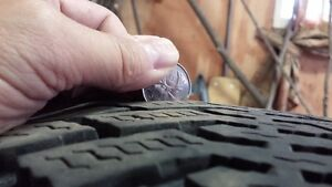 P225/60R16 Goodyear Nordic Snow Tires with Steel Rims London Ontario image 7