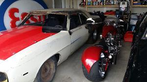 1969 Camaro Roller, Pro Street / Drag,