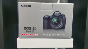 SALE SALE - CANON 5D MARK 4 WITH 24-70MM LENS - BRAND NEW