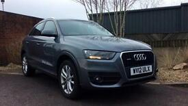 2012 Audi Q3 2.0T FSI (170) Quattro SE 5dr Manual Petrol Estate