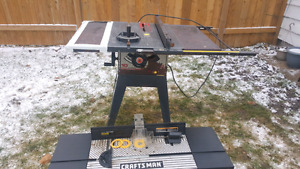 table saw, router table  519 466-1847