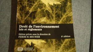 Droits de l'environnement