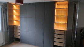 Furniture assembly service (flat pack) and fitted wardrobes