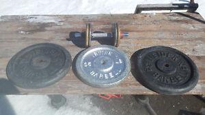 155lbs de poid de metal
